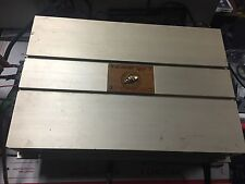 Old School Alumani Al-Hm1550 2-Channel Car Amp fully tested Hand Made