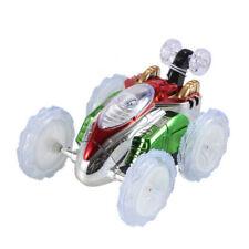 Mini RC Car Remote Control Toy Stunt Monster Truck Radio Electric Random Color