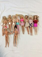 Vintage Mattel Barbie Dolls 1966 Lot of 12 Collectible Barbie Bodies