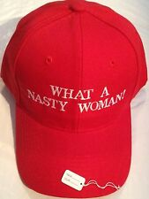 MAKE AMERICA GREAT AGAIN Parody HAT Trump EMBROIDERED What A Nasty Woman