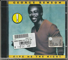 George Benson. Give Me the Night (1980) CD NUOVO Off Broadway. Love X Love. Mood