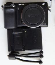 Sony Alpha NEX-6 (Body Only) WiFi Mirrorless Camera 12k Shutter Count