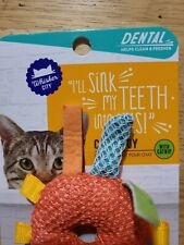 Whisker City - I'll Sink My Teeth Into This- Catnip Cat Toy - Brand New/Unopened