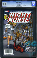 NIGHT NURSE #1 - CGC 9.8 - CULT-CLASSIC MINISERIES - SOLD OUT - FIRST PRINT