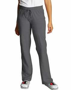 Champion Women's Pants Authentic Jersey Athletic Yoga Workout Relax Drawstring