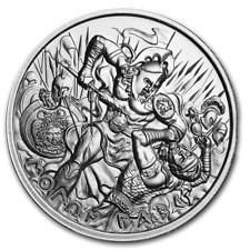 2 oz 999 Silber Round Molon Labe Ultra High Relief Spartaner Soldat 5te Ausgabe