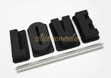 LOVE - Silicone Alphabet Letters Word Mould Molds for Cake Resin Chocolate Wax