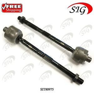 Front Left & Right Inner Tie Rod Ends for Mercedes-Benz SL Series 2003-2012 2Pc