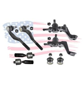 8 New Pc Suspension Kit for Toyota Tacoma 1995 - 2004 Ball Joint Tie rod Ends