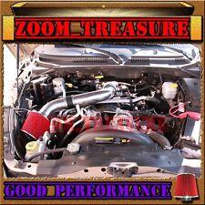 BLACK RED 2000-2010/00-10 DODGE DAKOTA/DURANGO/RAM 1500 V6 V8 AIR INTAKE KIT S