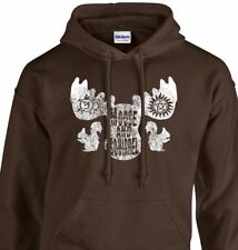 MOOSE & SQUIRREL Sweatshirt supernatural winchester sam dean crew hoodie fleece