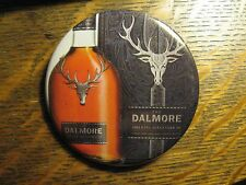 Dalmore Scotland Scotch Whisky Bottle Logo Advertisement Pocket Lipstick Mirror