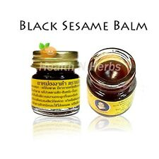 BLACK SESAME MINI BALM - RELIEVING JOINT STIFFNESS, STRAINED AND PAIN RELIEF
