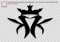 (2x) KMK KOTTOM MOUTH KINGS Sticker DieCut Decal logo