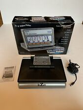 RecZone Classic Games Collection Portable Touchscreen 7 In 1 Video Poker - Works