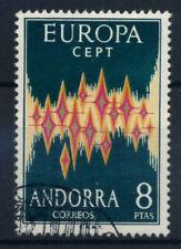 Andorre espagnol 1972 SG 67 Oblitéré 100% Europa CEPT