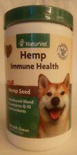 NaturVet Hemp Immune Health 60 Soft Chews EXP:02/2021+