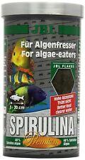 JBL Spirulina Flakes Fischfutter für Algenfresser 6 x 100 ml