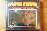 David Bowie Never Let Me Down 1991 24 Track 2 cd Factory MINT Templar Italy