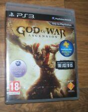 PS3 God of War Ascension  European Version new & sealed