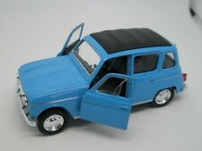 Automodels 1:32 -  WELLY - RENAULT 4 (blue)