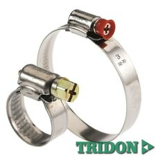 Hose Clamps 16-28mm Tridon Aussie Made Pk34 Stainless Perforated Band Automotive