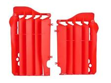 POLISPORT RADIATOR LOUVERS CRF450 RAD GUARDS HONDA CRF 450 2013 RED MX MOTOCROSS