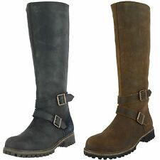 TIMBERLAND SAMPLE WOMEN'S WHEELWRIGHT WIDE CALF TALL WATERPROOF BOOT US 7 EU 38
