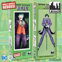 Official DC Comics The Joker 8 inch Action Figure in Retro Box