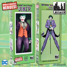 Official DC Comics The Joker 8 inch Action Figure in Mego Style Retro Box