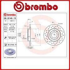 08.9148.1X#15 DISCO FRENO POSTERIORE SPORTIVO BREMBO XTRA VW BORA (1J2) 1.9 TDI