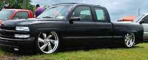 99-06 Chevy,GMC truck Shaved door handle filler plates