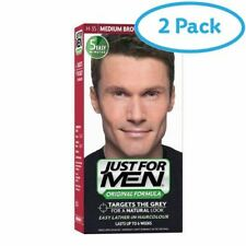 2 Packs of Just For Men Shampoo-In Haircolour Natural Medium Brown H-35