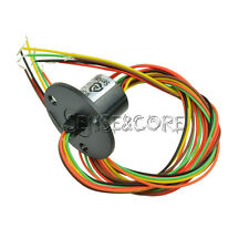 12.5mm 300Rpm 6 Wires CIRCUITS 2A Capsule Slip Ring Schleifring 240V Dirigent