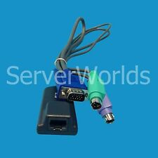 HP RJ45 to VGA PS/2 KVM IP CAT 5 Interface Adapter Cable 286597-001