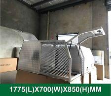 1775x700x850 mm Heavy duty Dog tool box Part-Tray Canopy Aluminium half canopy t