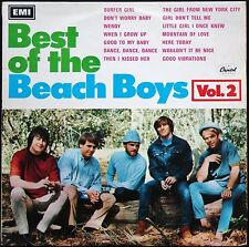 BEST OF THE BEACH BOYS VOLUME 2 33T LP PRESSAGE ORIGINAL CAPITOL ST 20956