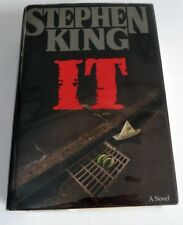 It by Stephen King (1986, Hardcover, 1st Edition 7th Printing w/ Dust Jacket)