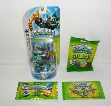 SKYLANDERS SWAP FORCE S3 ANCHORS AWAY GILL & DOG TAG COLLECTOR CARDS & QUBI LOT