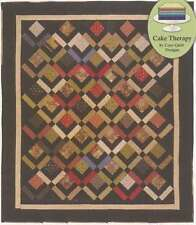 THREE LAYER CAKE QUILTING PATTERN, Cake Therapy Pattern From Cozy Quilt Designs