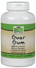 Guar Gum Powder  8 Oz NOW Foods