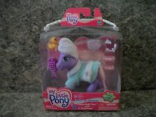 "NEW-G3 MY LITTLE PONY DRESS UP DAYWEAR BUBBLE BATH TIME WITH  ""SWEETSONG"""