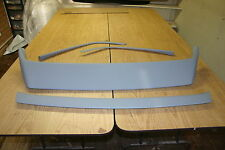 Porsche 924/944/968 4 Piece Rear Boot Bridge Spoiler - Guide Primer - Brand New!