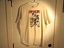 VINTAGE CRY FOR DAWN JOSEPH MICHAEL LINSNER 1990 T-SHIRT WHITE COMIC SIZE XL