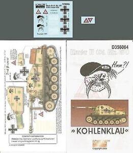 Echelon Decals-356064 x 1/35 Marder II (SdKfz 131) Eastern Front