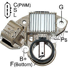 Alternator Voltage Regulator Nissan Navara D40 YD25DDTi 2.5L Turbo Diesel 150A