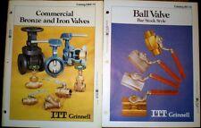 ITT Grinnell Catalog ASBESTOS Bronze Iron Valves DuPont