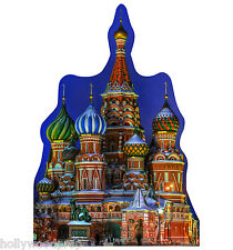 SAINT ST BASIL'S CATHEDRAL RED SQUARE MOSCOW RUSSIA STANDUP STANDEE CUTOUT