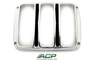 1964,1965,1966 Ford Mustang Tail Light Bezels  NEW   One Pair