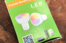 GU5.3 Dimmable WiFi Smart LED Light Bulb Timer RGB Color for  Alexa Or Google